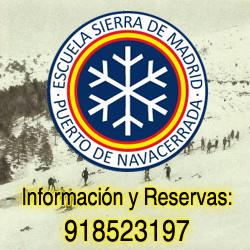 Escuela de Esqui Madrid Sierra de Madrid